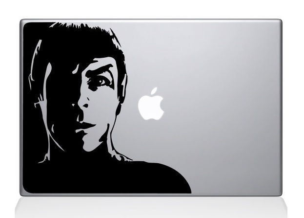 Star Trek Macbook Decal Sticker