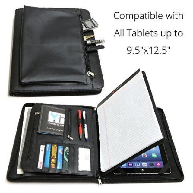 Universal Business Leather Portfolio for iPad Pro
