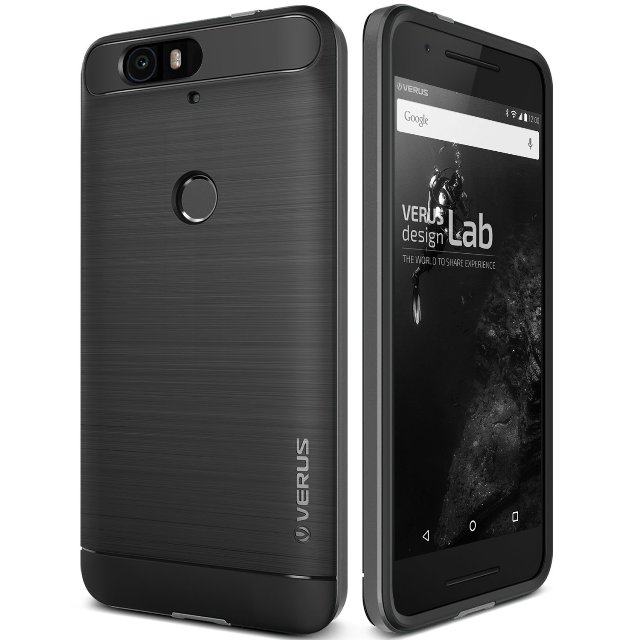 Verus Steel Silver Nexus 6P Case