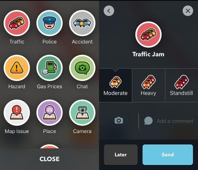 Waze -bb- 08 - Report Traffic