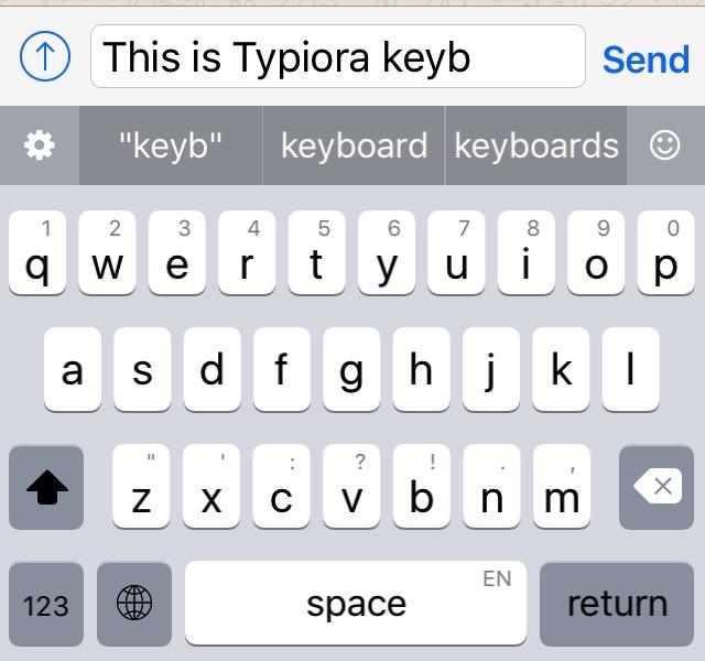 iOS Keyboards -bb- Typiora-1