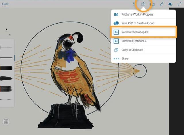 iPad Drawing Apps -bb- 03 - Adobe Photoshop Sketch