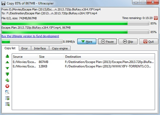 teracopy for windows 7
