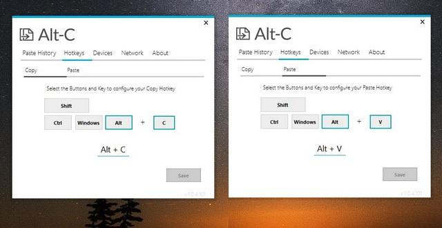 Alt-C Universal Copy