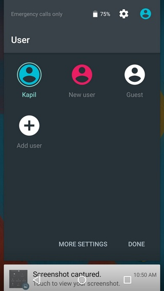 Android multi user