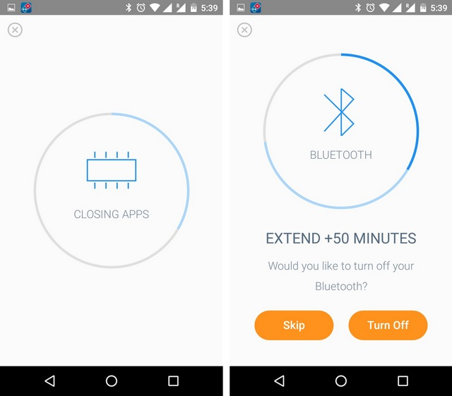 Battery Time Android app features