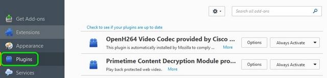 Firefox Plugins