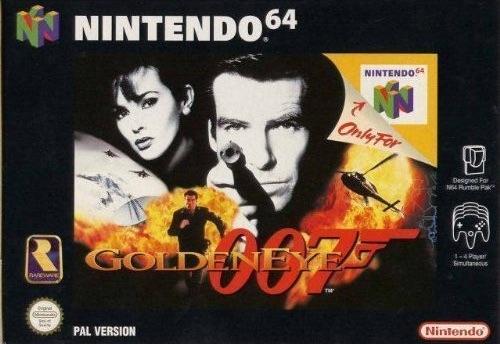 Goldeneye - best Nintendo 64 games
