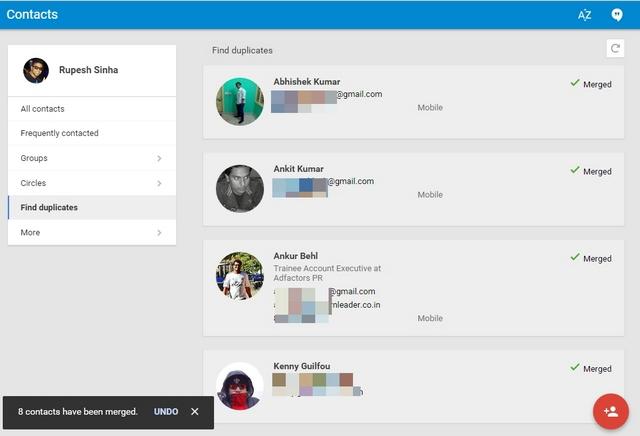 Google Contacts Merge Duplicates 2