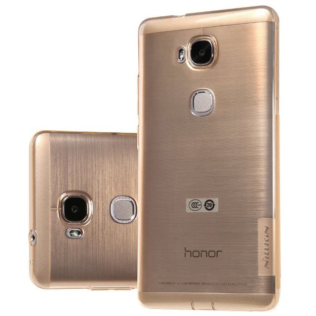 Leathlux Transparent Honor 5X Protective Case
