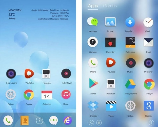 Lonely Go Launcher Theme