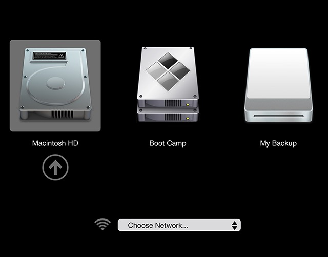 Mac Boot Options -bb- Startup Manager