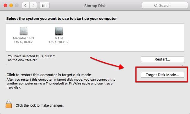 Mac Boot Options -bb- Target Disk Mode