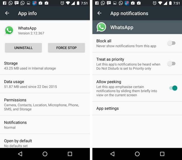 WhatsApp Tricks stop notifications