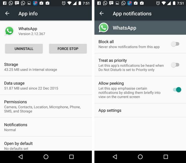 WhatsApp Tricks stop notifications