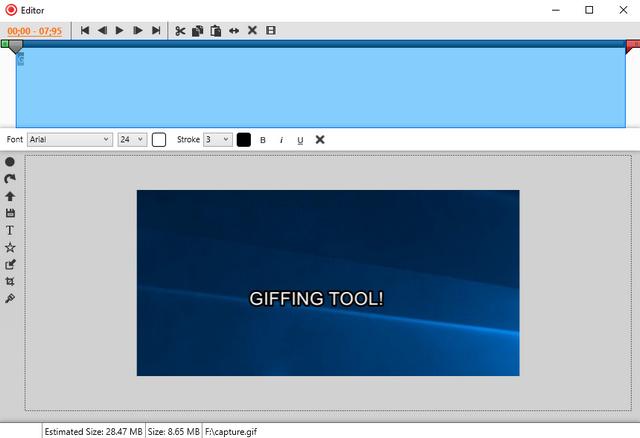 giffing tool