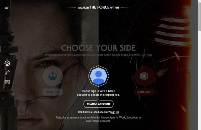 google star wars experience