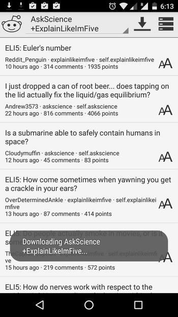 reddit offline