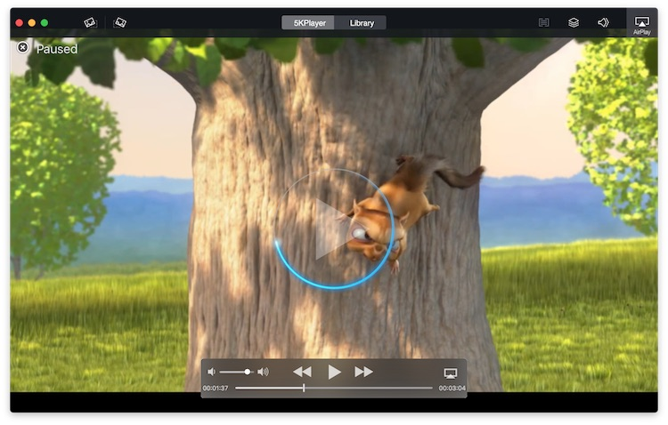 5KPlayer - best video player for Mac