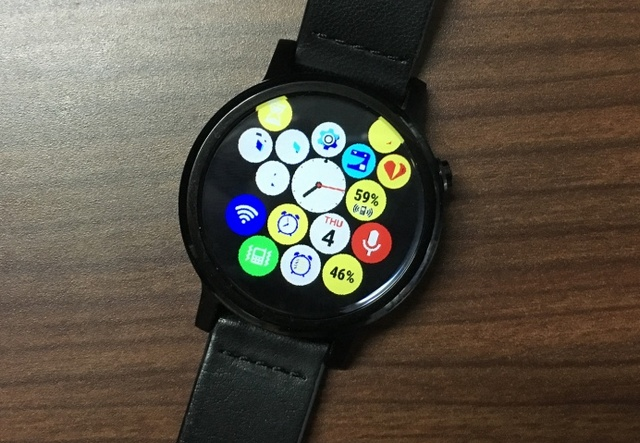 Bubble Cloud launcher Android Wear