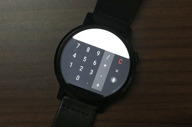 Calculator Android Wear