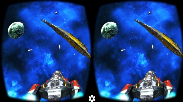 Deep Space Battle VR