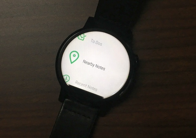 Evernote for Wear