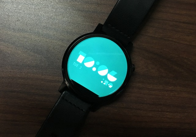 FORM watch face