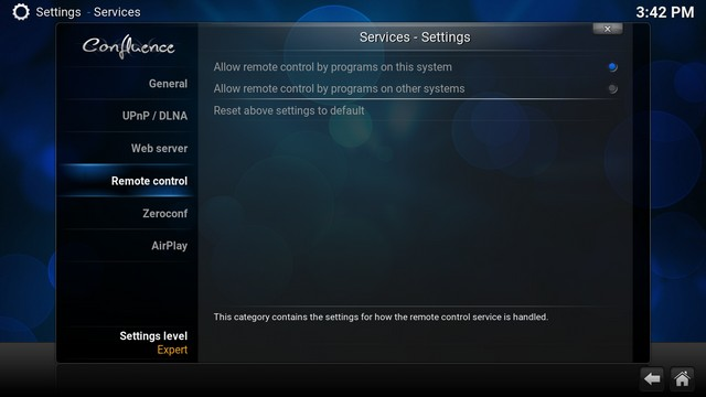 Kodi Remote Access