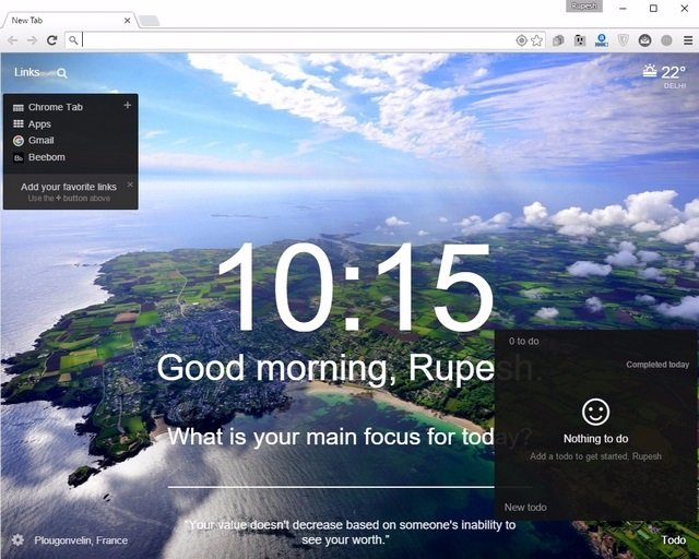 Momentum Chrome Extension (2)