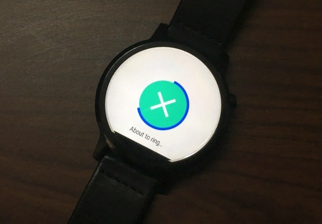 Moto 360 Find your phone