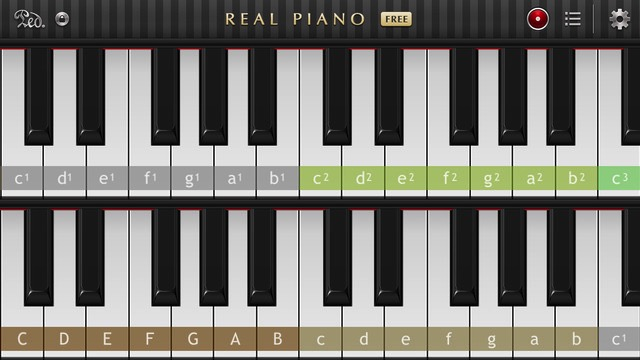 Music Maker iOS -bb- Real Piano