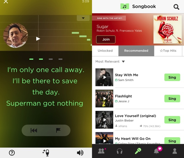 Music Maker iOS -bb- Sing Smule