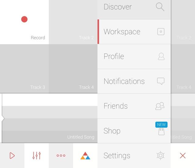 Music Maker iOS -bb- Trackd