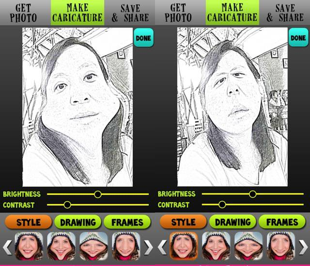 Photo App -bb- Caricature Me
