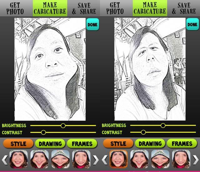 Photo App -bb- Caricature Me