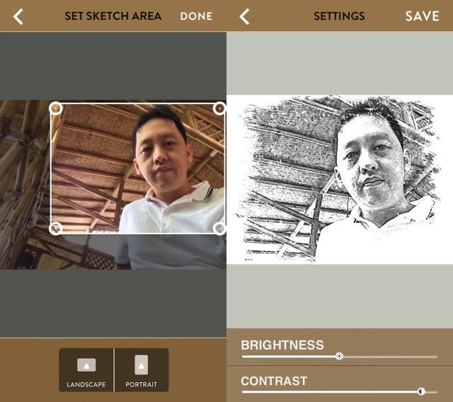 Photo App -bb- Sketch Me