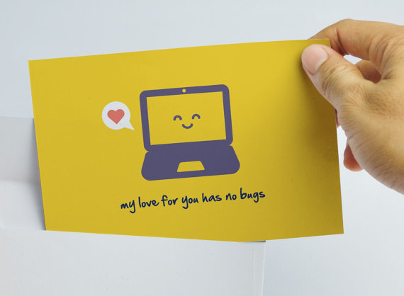 Programmer Love Card