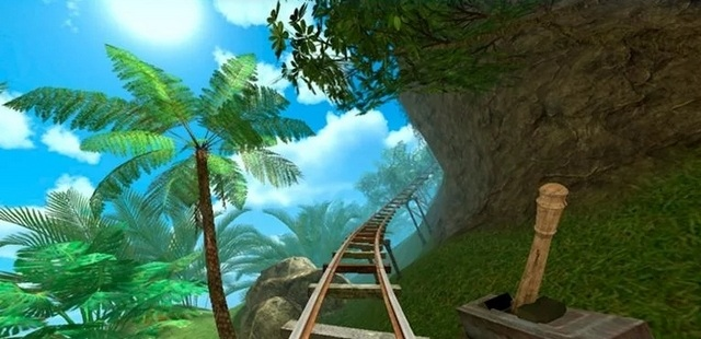 Roller Coaster VR Attraction