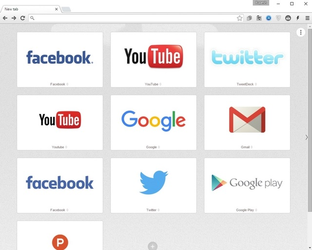 Speed Dial 2 Chrome Extension
