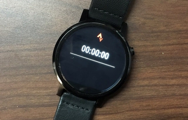 Strava Android Wear