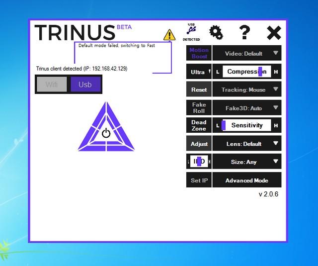 Trinus PC Server