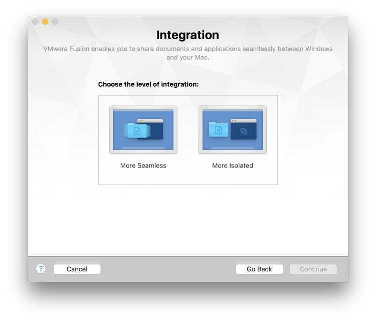 VMware Integration