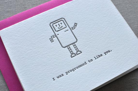 i was programmed to like you