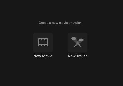 iMovie - movie or trailer