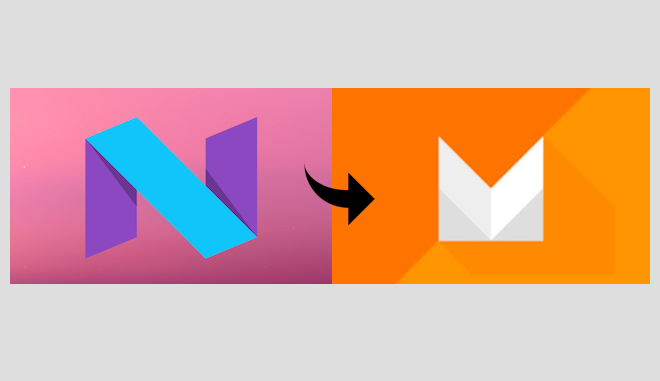 Android N Developer Preview to Android Marshmallow 6.0