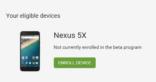 Android Beta-Programm