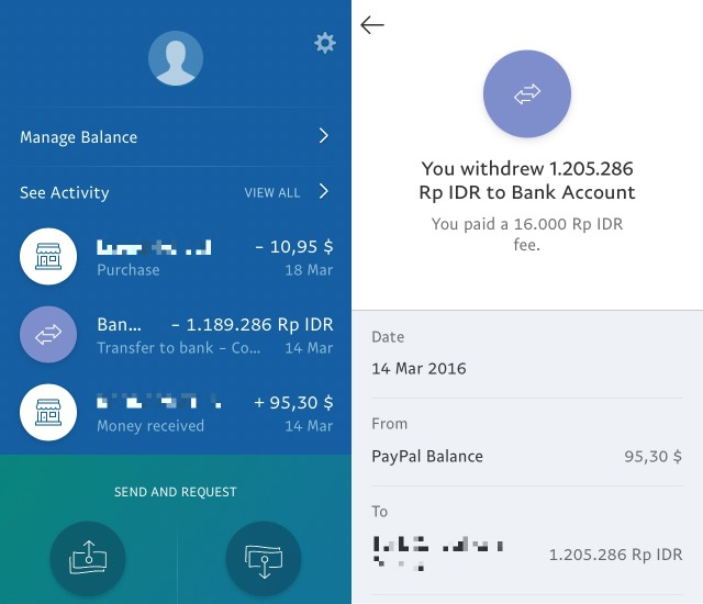 Business App -bb- PayPal