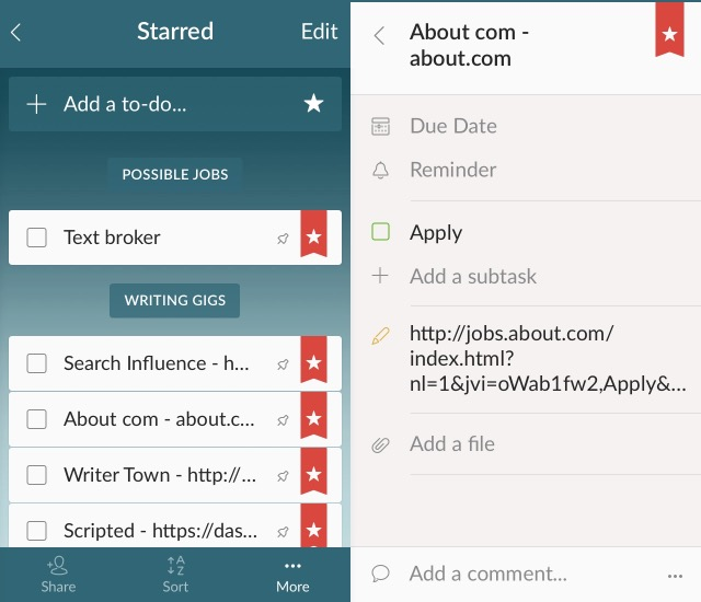 Business App -bb- Wunderlist
