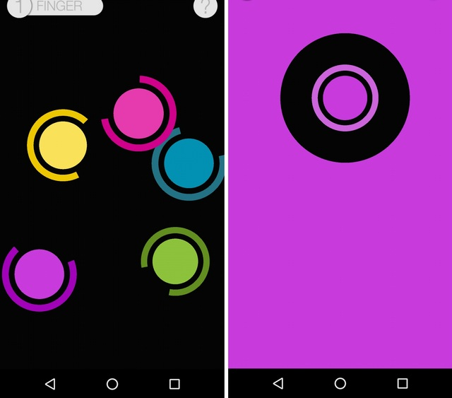 Chwazi Finger Chooser Android App